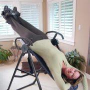 Фитнес уред инверсна лежанка Тийтър