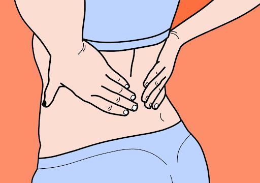 Комикс болки в кръста и гърба